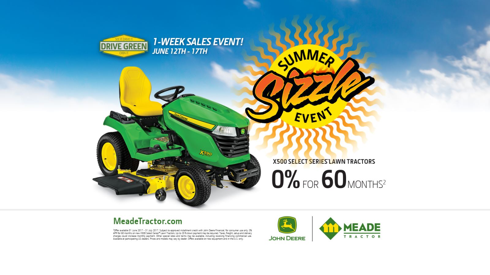 Meade Tractor Summer Sizzle Sales Event