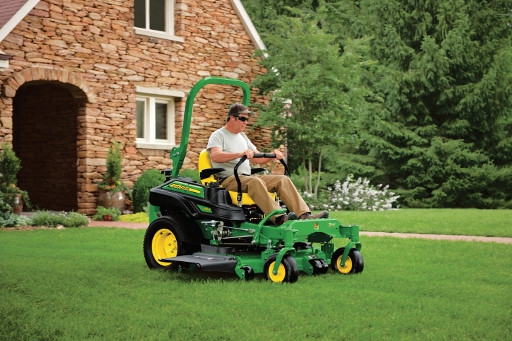 Meade Tractor wants to put you in the Driver's seat this spring with the John Deere Z915!