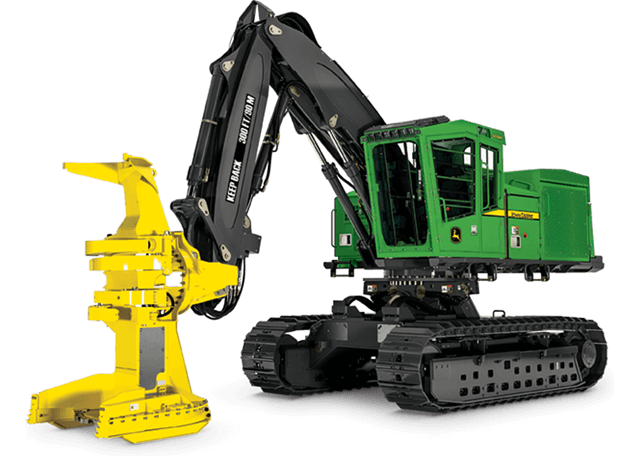 909M Tracked Feller Buncher