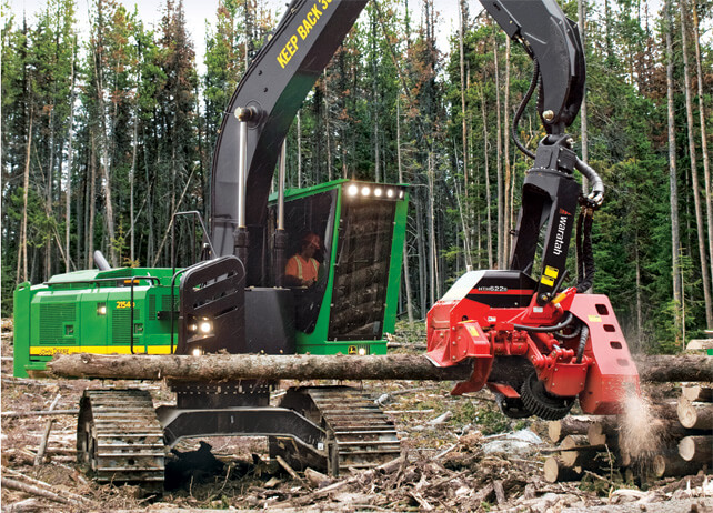 2154D Forestry Swing Machine