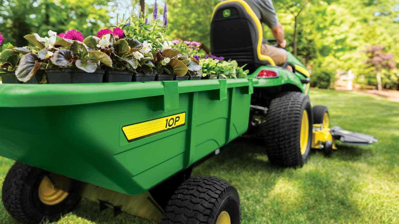 Free John Deere 10P Cart from Meade Tractor