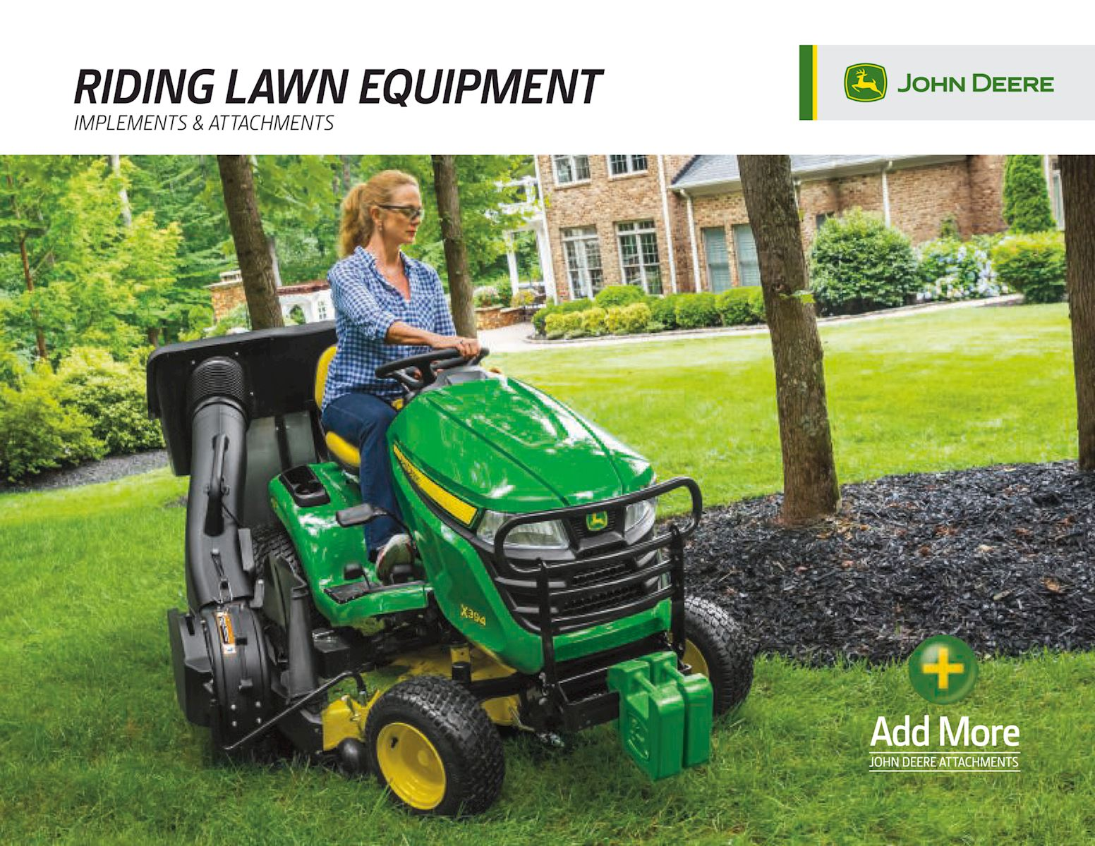 Riding Lawn Equipment Attachments, Accessories and Implements