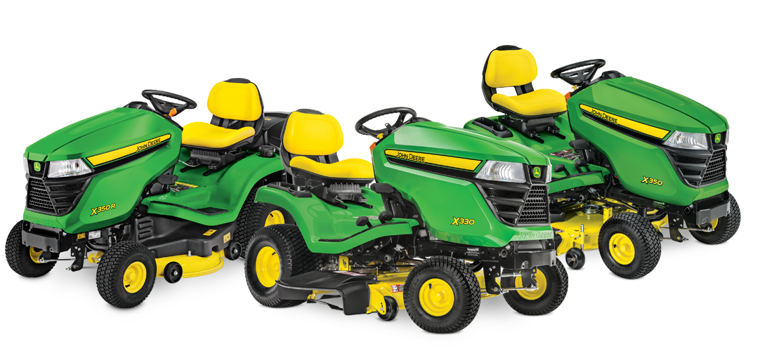 John Deere riding lawn mowers from Meade Tractor