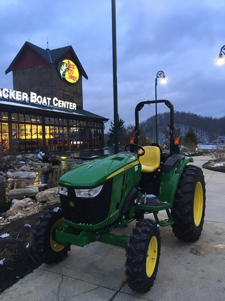 Bristol Motor Speedway and Meade Tractor Celebrate