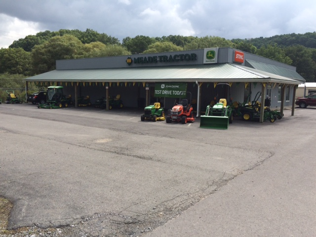 Meade Tractor of Bluefield hosts John Deere Day