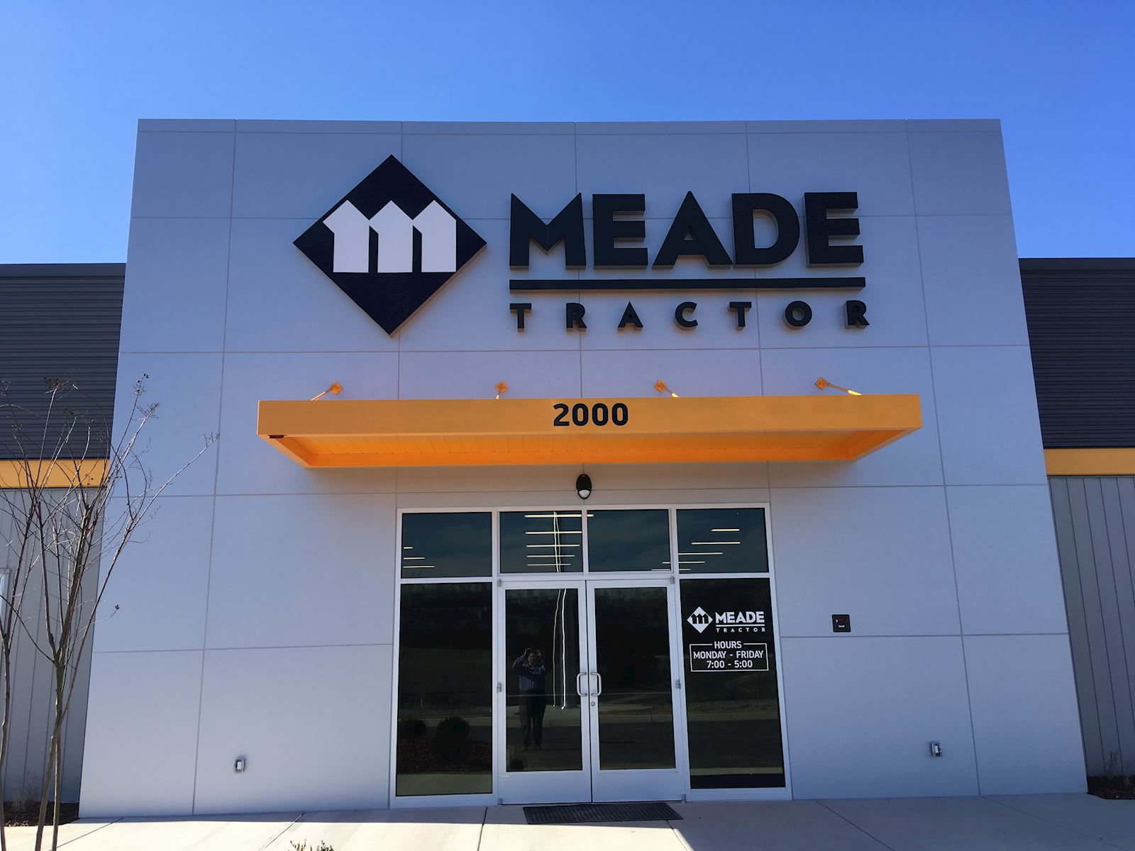 Meade Tractor of Kingsport is open for business!