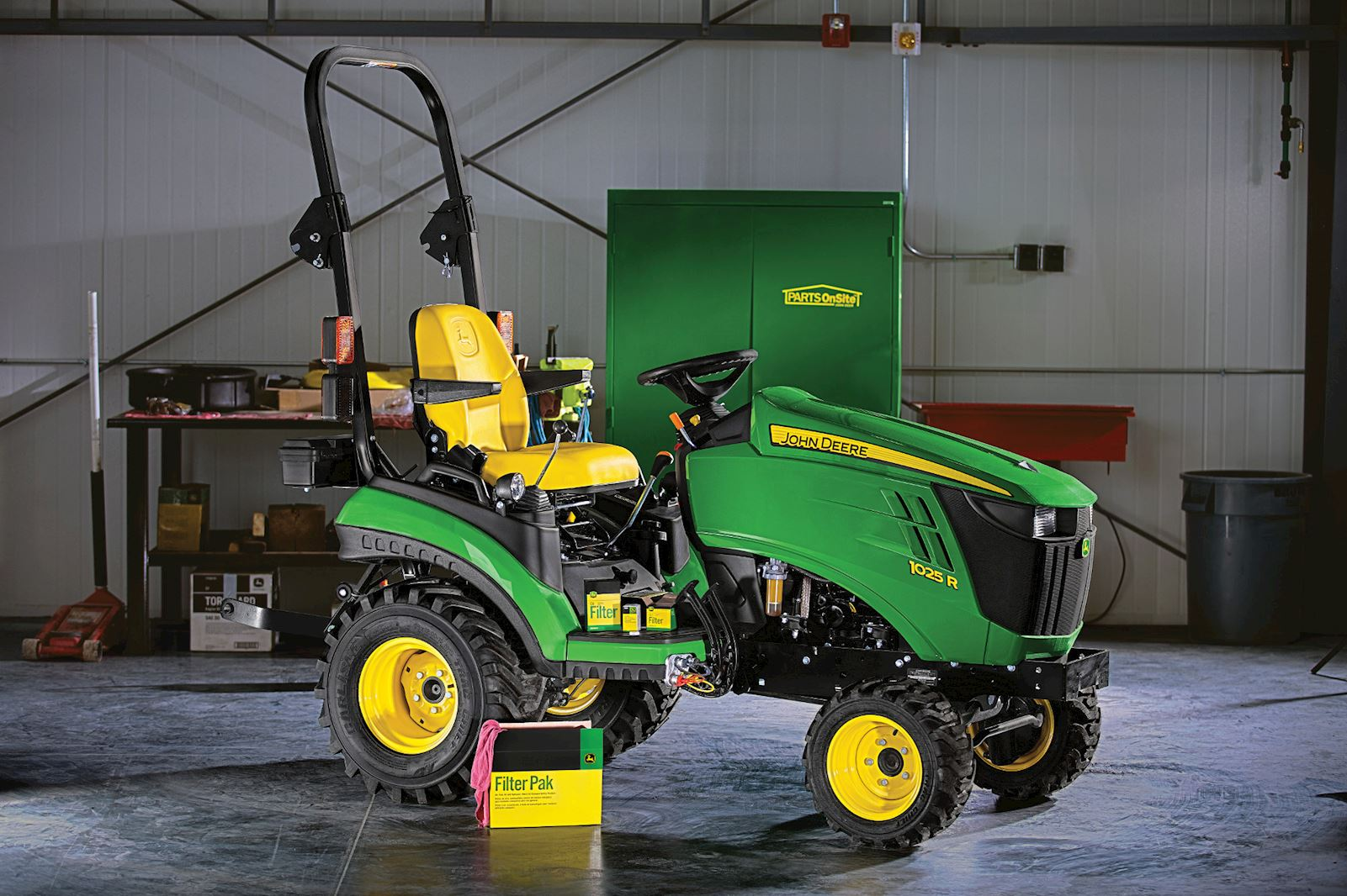 How To Change Your Engine Oil & Filter   John Deere Compact