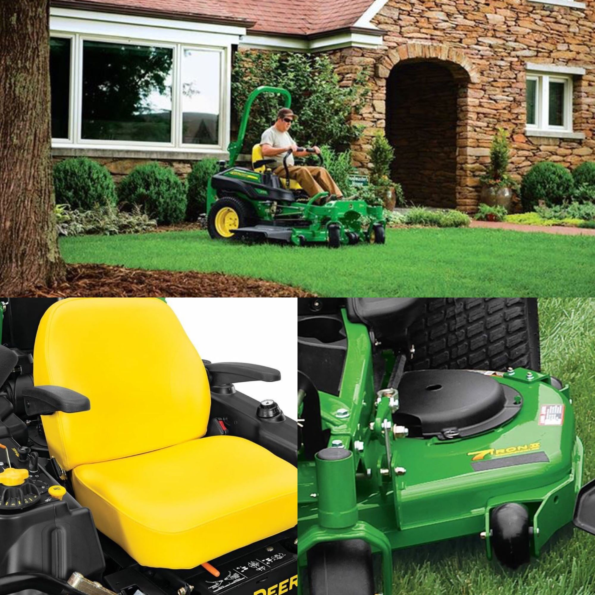 Must Watch Video! The John Deere ZTrak 900 Series Zero-Turn Mowers!