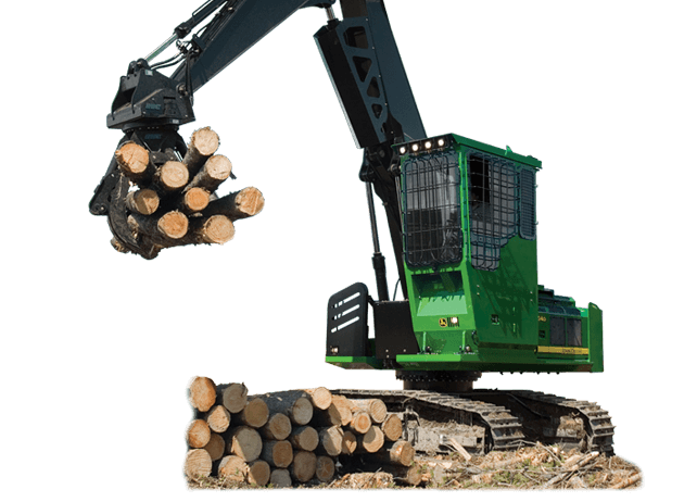 2454D Forestry Swing Machine